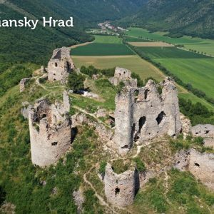 Turniansky hrad a obec Háj